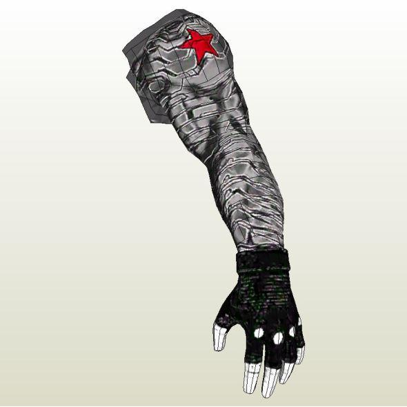 Winter Soldier Arm Pepakura