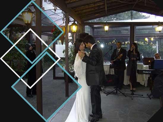 Musica matrimonio al locale con il Trio PePeNeRo