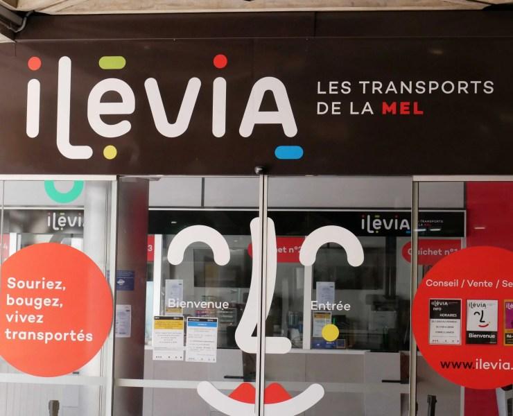 Agence métro transports Ilévia