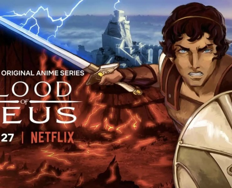 Affiche promotionnelle de Blood Of Zeus