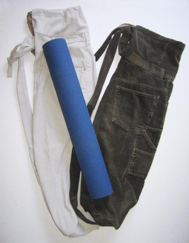 Yoga Mat Tote Bags