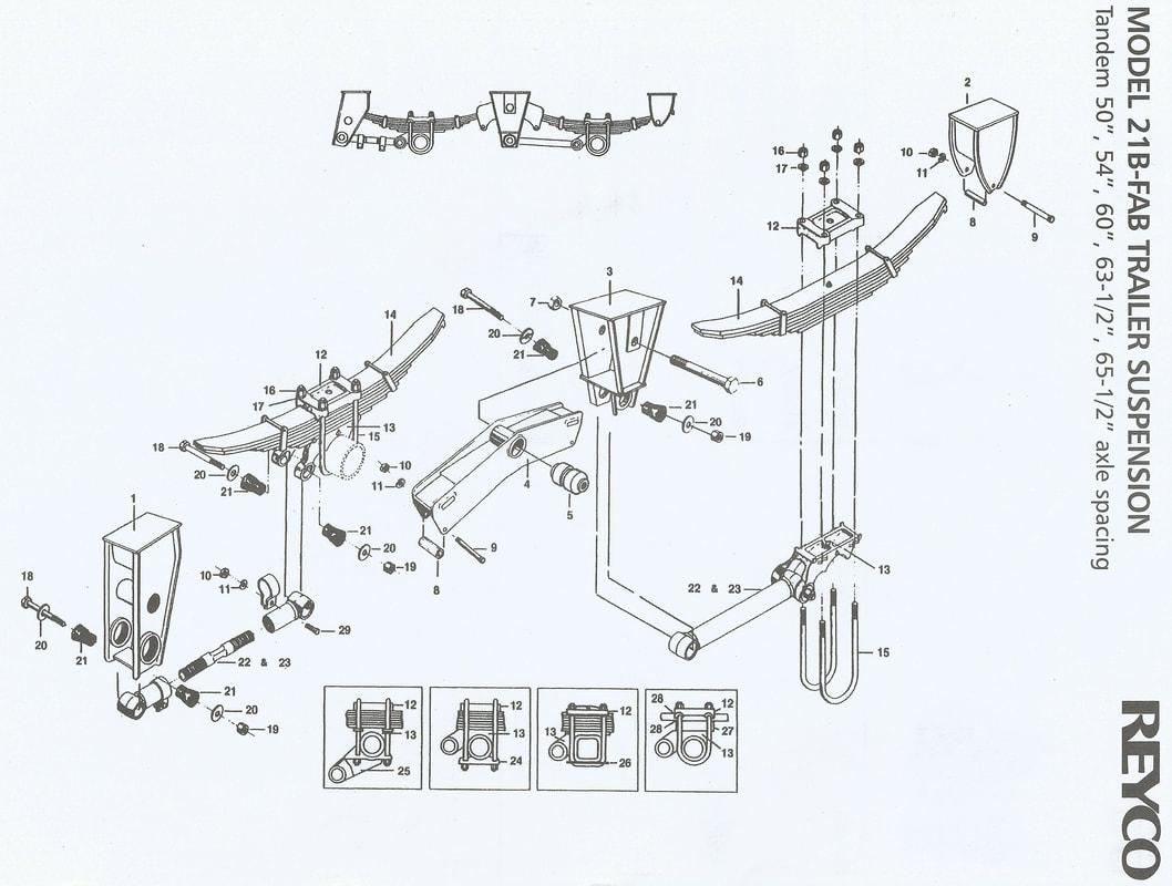 Reyco Trailer Suspension Schematic Guide