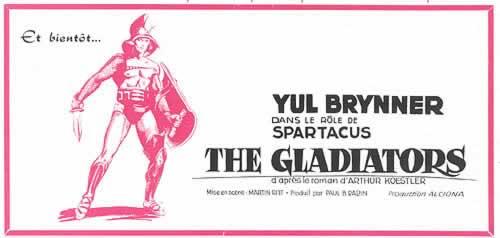 yul brynner - spartacus