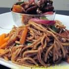 Mushroom Vegetable Noodles Recipe