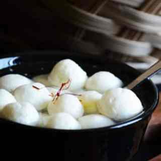 Bengali Rasgulla Recipe made easy
