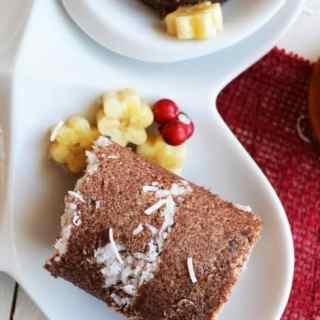 Ragi Puttu with Maple Syrup – Steamed Finger Millet