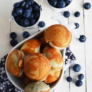 Blueberry Cake Pop Recipe / Paniyaram
