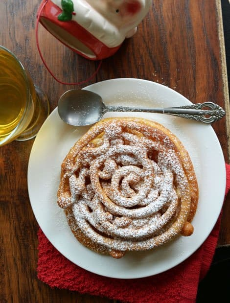 Funnel Cake Recipe, a Carnival Food