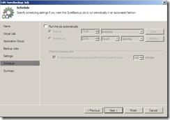 Veeam SureBackup Job settings run settings