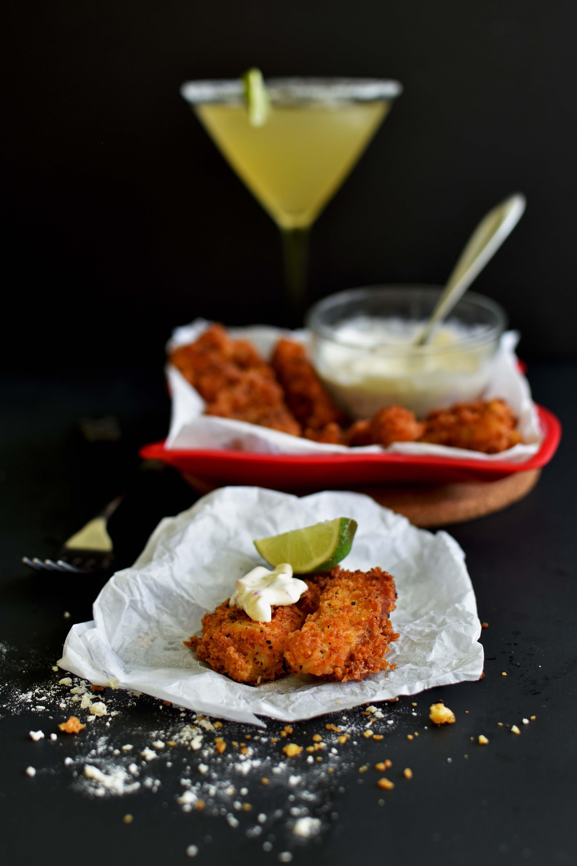 Crispy Fish Fingers - Pepper Delight #pepperdelightblog #recipe #appetizer #fish #30minute