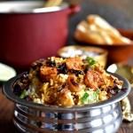 Prawn Biriyani - Pepper Delight #pepperdelightblog #recipe #prawn #shrimp #indian #chemmeen #biriyani #kerala #keralastylebiriyani #seafood #easy #prawnrecipes #nadan #prawnbiriyani #biryani