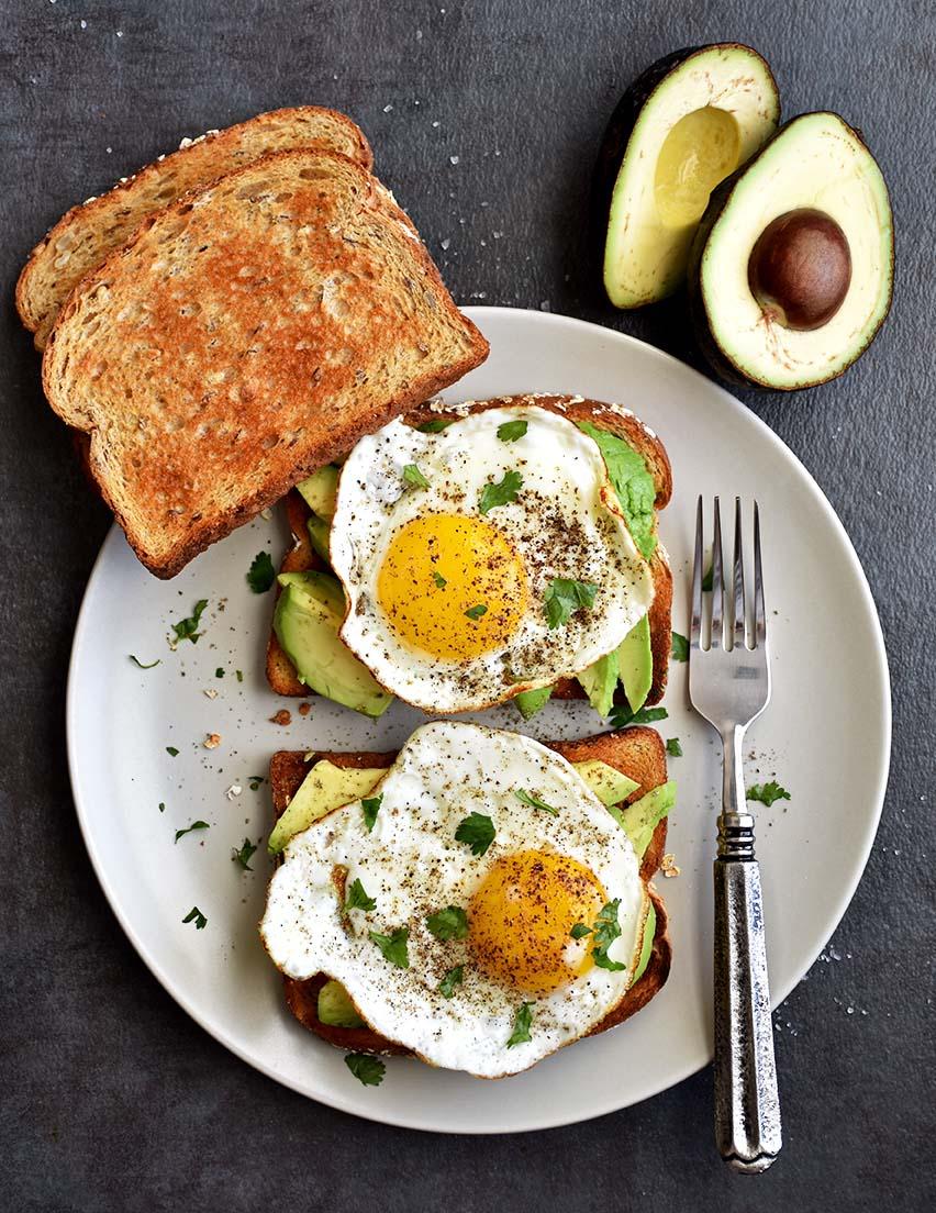 Avocado Egg Toast - Pepper Delight