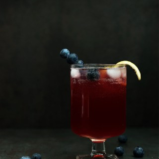 Blueberry Limoncello Cocktail