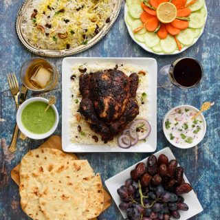 Tandoori Whole Chicken Roast