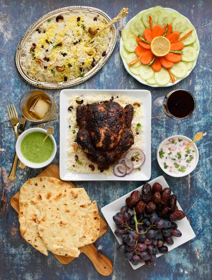 Tandoori Whole Chicken Roast - Pepper Delight #pepperdelightblog #recipe #chicken #healthy #tandoori #tandoorichicken #indian #healthy #cleaneating #summer #fall #grilling #mughlai #seafood #ovencooking #makeaheadrecipes #wholechickenroast #thanksgiving #christmas #celebration #party