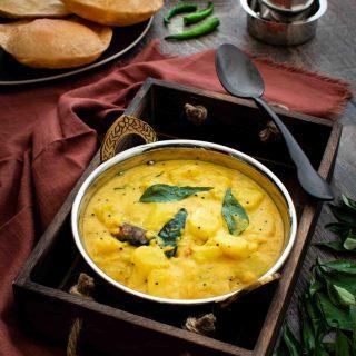 Kerala Style Potato Curry with Coconut Milk