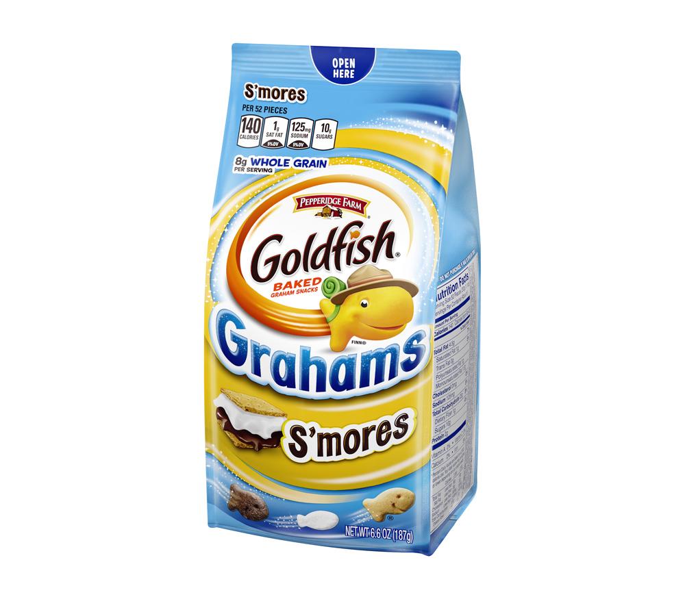 Goldfish Grahams Smores Baked Graham Snacks Pepperidge