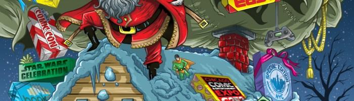 ReedPop 2014 Christmas Card Illustration