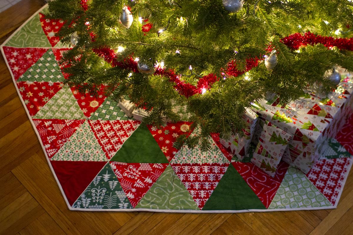 Christmas Tree Skirt Pattern Quilt Free