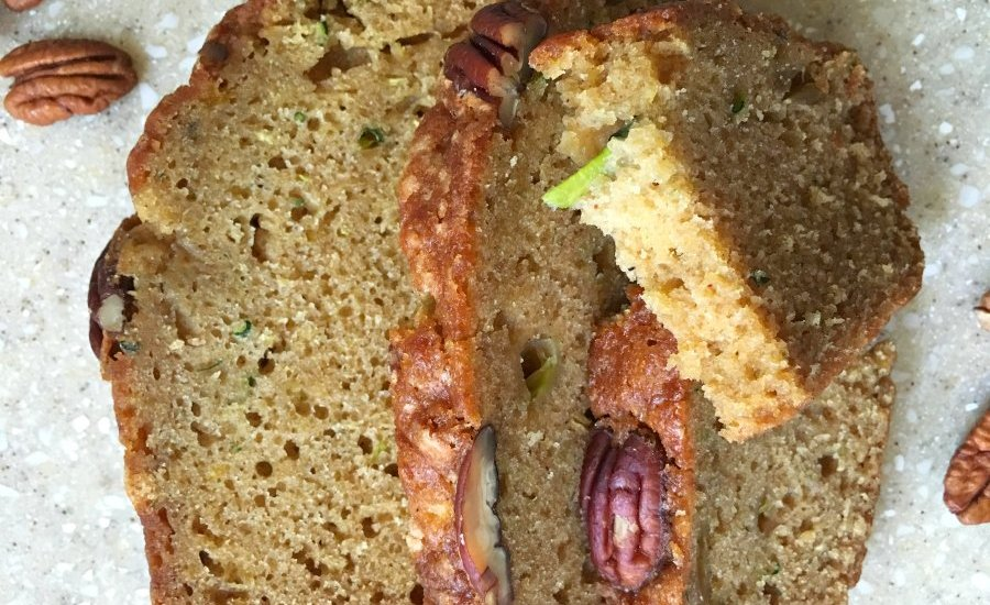 Delicious Zucchini Loaf-view