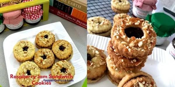 Jam sandwich cookies_PepperOnPizza.com