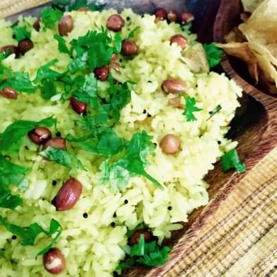 Easy tangy Lemon rice