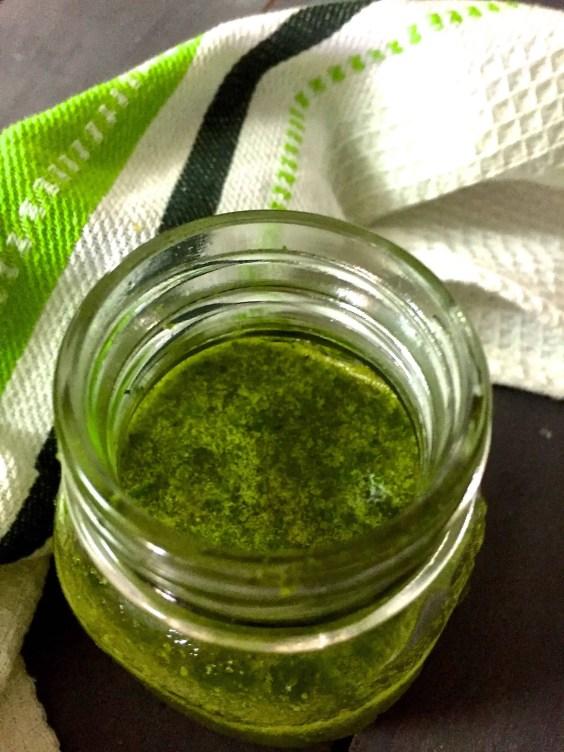 Aromatic Homemade Basil Oil