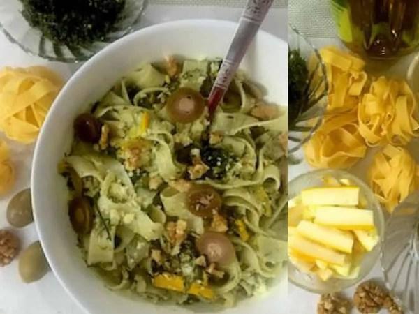Fennel Frond Pesto Pasta_PepperOnPizza.com