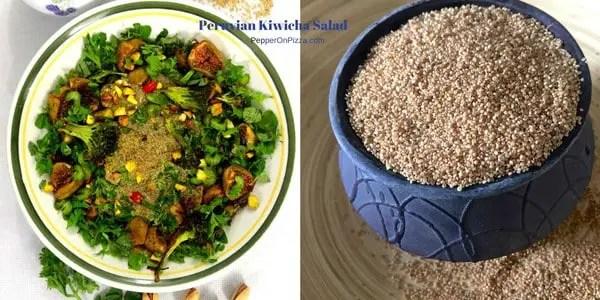 Peruvian Kiwicha Salad