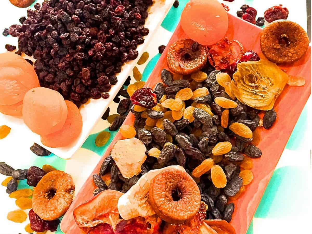 Best dried fruit for christmas cake