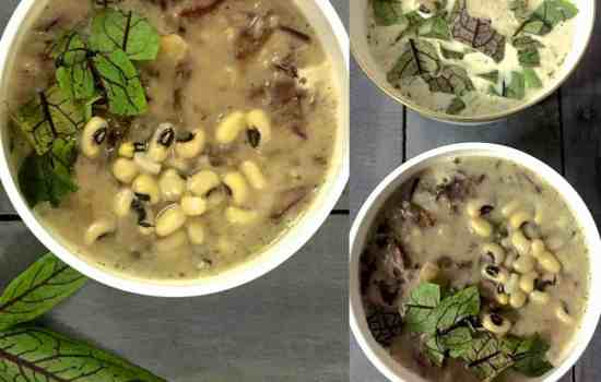 French Style 2 Bean Sorrel Soup – Nutritious, Warming, Easy