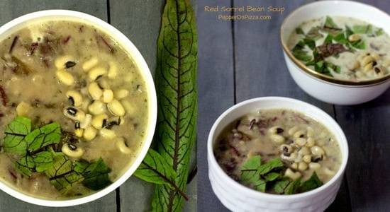French Style 2 Bean Sorrel Soup