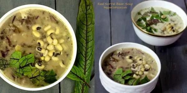 French Style 2 Bean Sorrel Soup