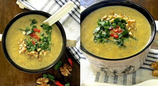 Curried Chilli Zucchini Soup – Spice Up Your Evening