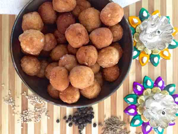 Simple step by step recipe for making easy Uppu Seedai from store bought flour, for a traditional Tamilian savoury made for Gokulashtami naivedyam