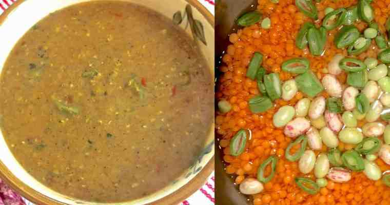 Nourishing Masoor Dal for the New Mom – with Beans