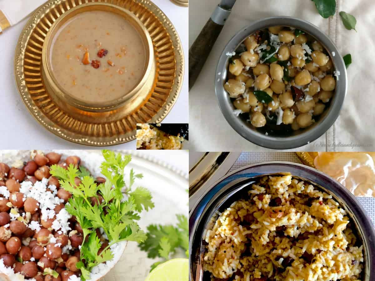 Easy Navaratri Naivedyam and Sundal Recipes