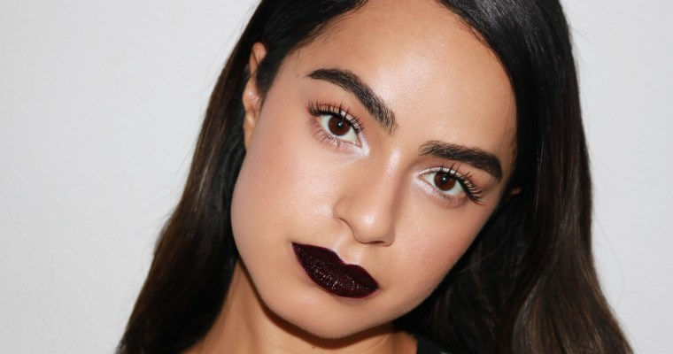 HOW TO PULL OFF DARK LIPSTICK