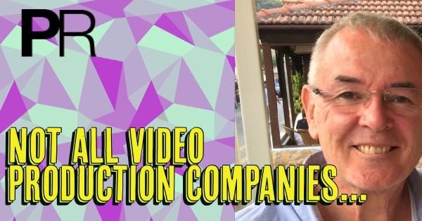 Not All Video Production Companies