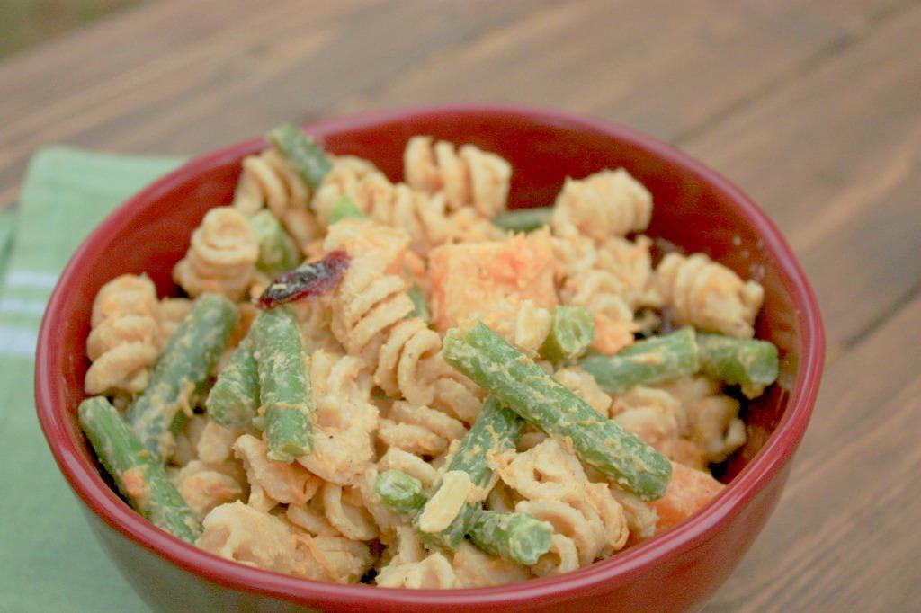 Cold or Hot Fall Pasta Salad