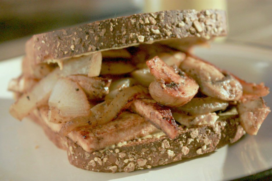 Bachelor Tofu Sandwich