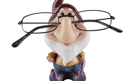 Mr Crimbo Novelty Reading Glasses Holder Figure, Gnome