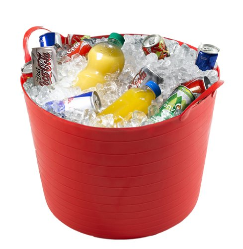 40 LITRE / LTR LARGE PARTY BUCKET / BEER / DRINKS / FLEXI / STORAGE TUB