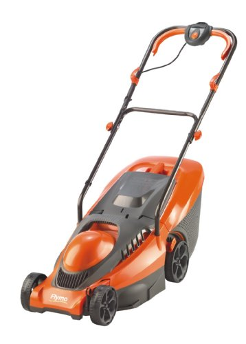 Flymo Chevron 34C 34cm Cut Wheeled Electric Lawn Mower
