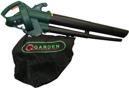 Q Garden QGBV2500 Leaf Blower Vacuum – Green/ Black