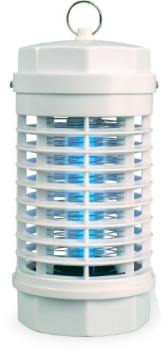 Zero In High Voltage Insect Killer (UV LED Lamp, Poison-Free Bug Zapper, Controls Insects Such as Flies, Moths, Midges and Mosquitoes, Use Indoors, Around the Home)