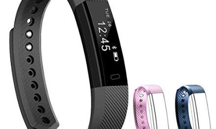NAKOSITE SB2433 Best Fitness Tracker Pedometer Activity Tracker Smart Bracelet, Step Counter, Calorie Counter, Sleep Monitor, Distance, Sport Watch, with Walking and Running App from VeryFit for iPhone and Android phones (Bluetooth 4.0 for Android 4.4 or IOS 7.1 and above ONLY). PLUS: SMS, Caller ID, Alarm Alert, Anti-Phone Loss, Find Phone, Take Photos, SNS Alerts such as Whatsapp and Facebook. Colour Black. Bonus: Fitness Ebook