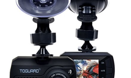 TOGUARD Mini Dash Cam (16GB Card Included) Full HD 1080P Car Blackbox Car Dash Cams DVR Dashboard Camera Built In G-Sensor Motion Detection Loop Recorder Night Vision