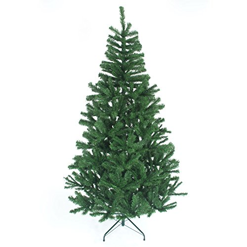 6ft Christmas Tree GREEN 550 Pines Artificial Tree with Metal Stand