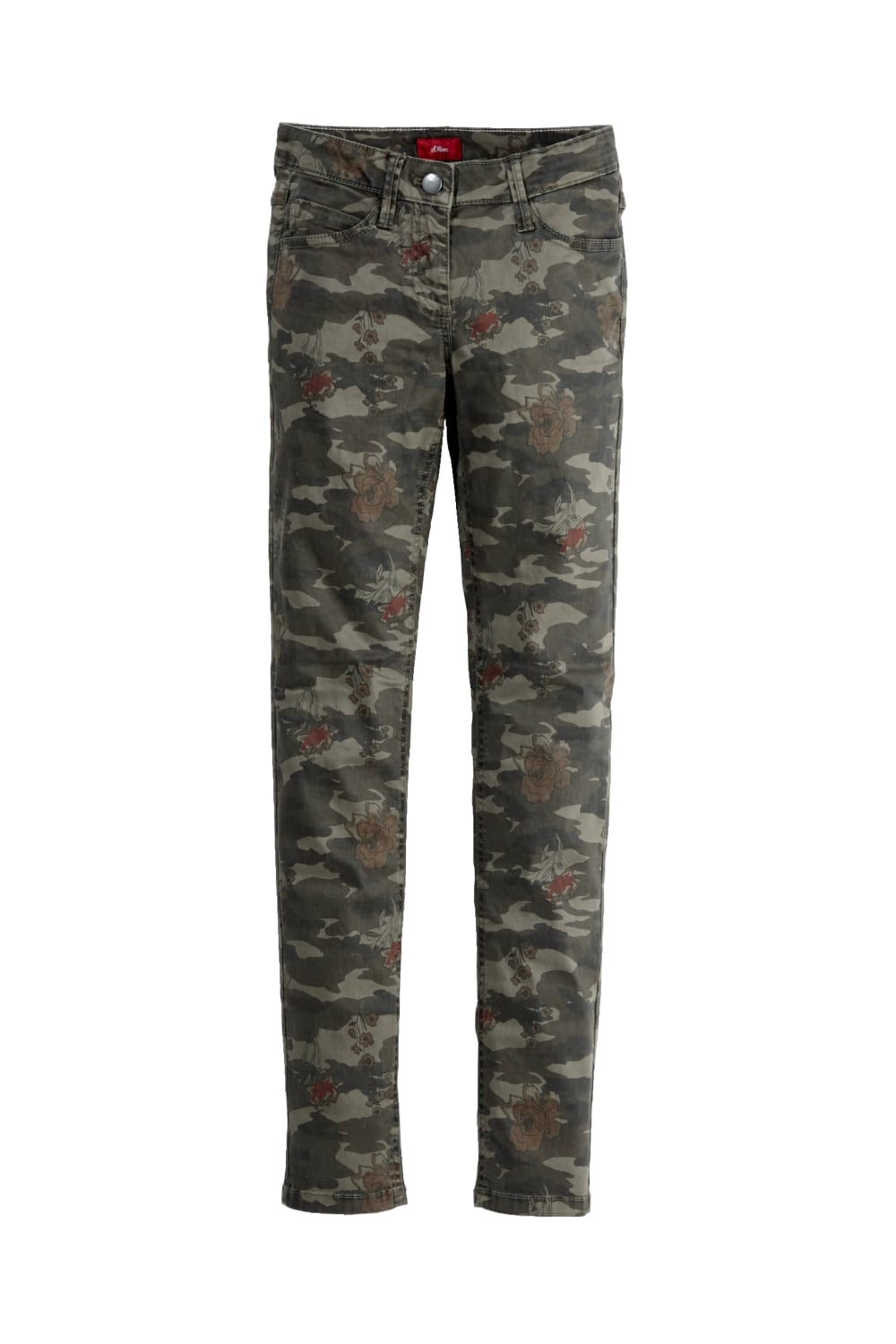 S.OLIVER Skinny Hose mit Camouflage Print bei Peppys in